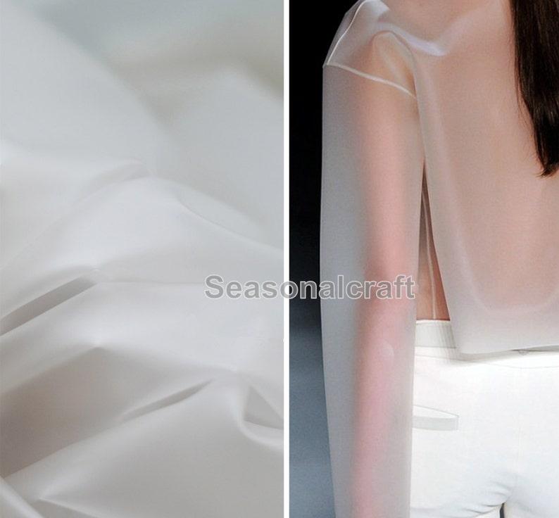 072e39f690039d Lichtdurchlässigkeit TPU Stoff-transparente Kleidung | Etsy