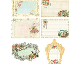 Divine Journalling Notecards pack of 30 by Jodie Lee for Prima Marketing 950651