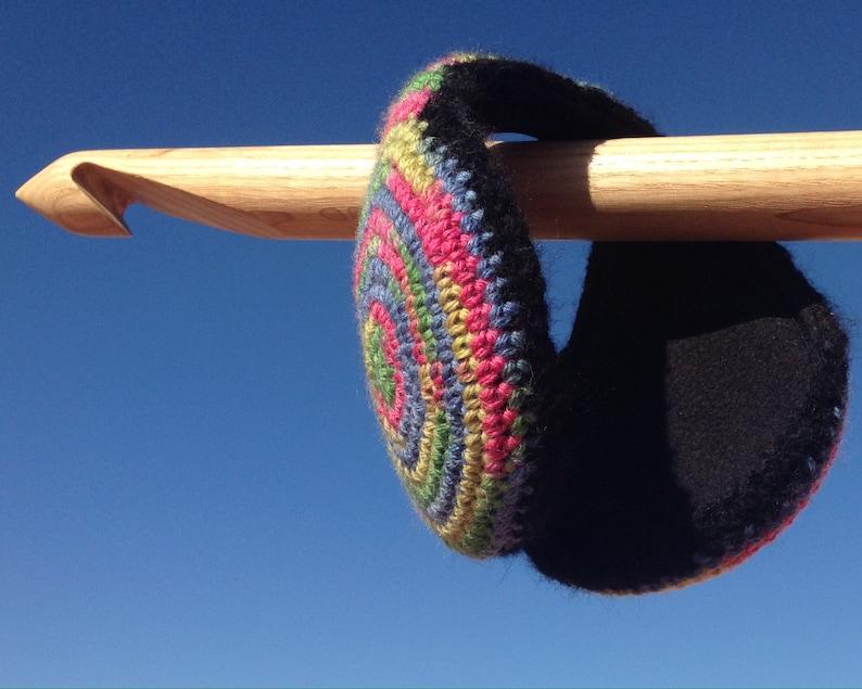 a beautiful best friend Christmas gift Colorful Earmuffs merino wool