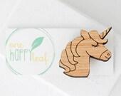 Unicorn brooch - unicorn gift - unicorn animal gift, unicorn pin, unicorn gift for girl
