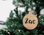 Personalised Christmas bauble, gift, Christmas tree decoration, christmas decoration, personalised christmas