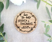 Save the date pack, magnet, wooden wedding save the date, wedding invite, wooden invite