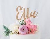Personalised cake topper, custom name cake topper, cake topper for birthday