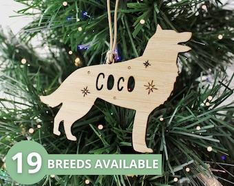 Dog Christmas tree decoration