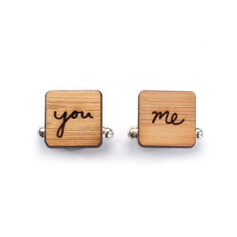 Cufflinks  Groom cufflinks  Wedding Cufflinks  5 year image 0
