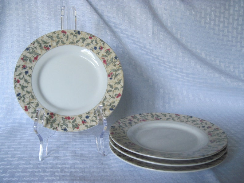 Dessert Plates Bread and Butter Plates Floral Plates Design Pac Inc. Salad Plates Floral Dessert Plates Side Plates Dessert Plates