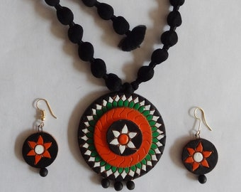 Necklace and earrings set #2