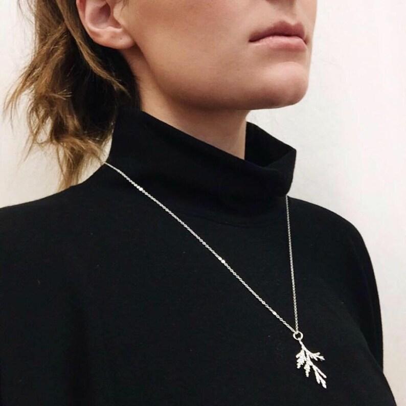 Juniper Branch Necklace