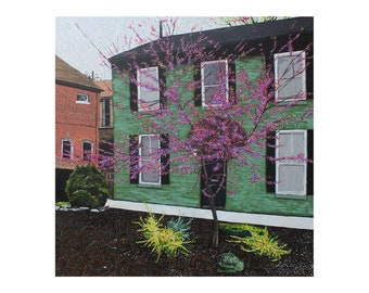 Purple Tree Photo Print