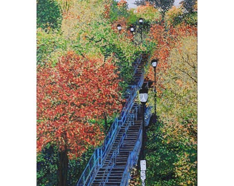 Kenilworth Stairs Photo Print