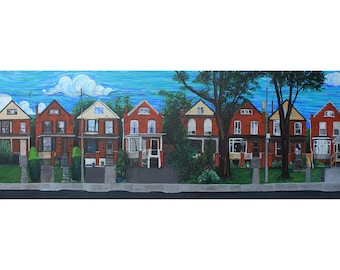 Emerald Street, Hamilton Ontario Photo Print
