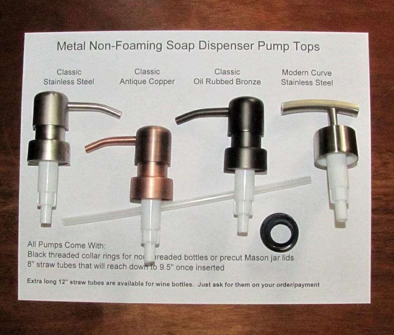 a6163637ccd Soap Dispenser Pump Replacement Soap Pumps Wine Bottle Soap