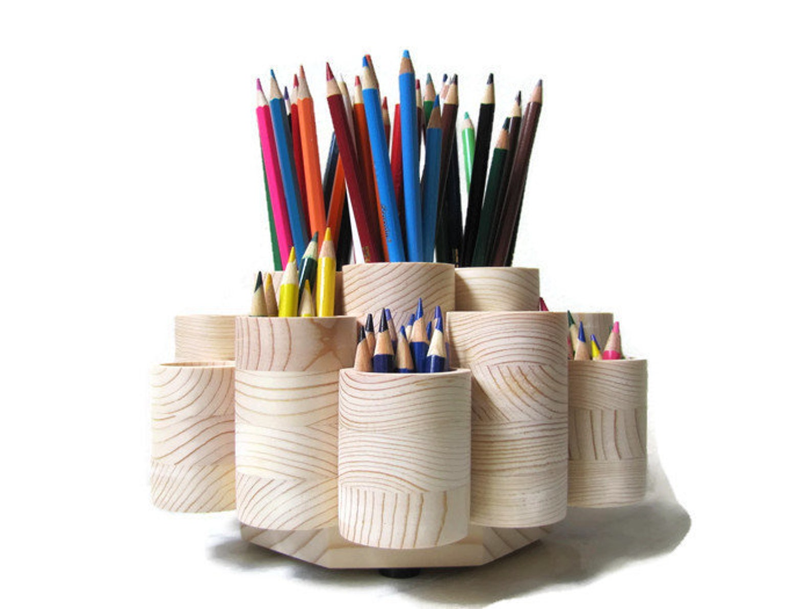 rotating pencil storage