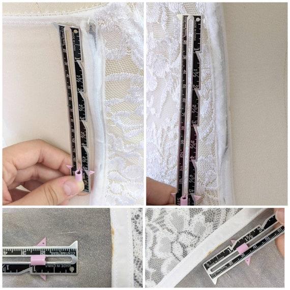 White Lace Corset, Sheer Corset for Women, Sheer … - image 10
