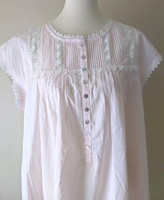 Victorian Chemise EILEEN WEST, Bridal Vintage  Cot
