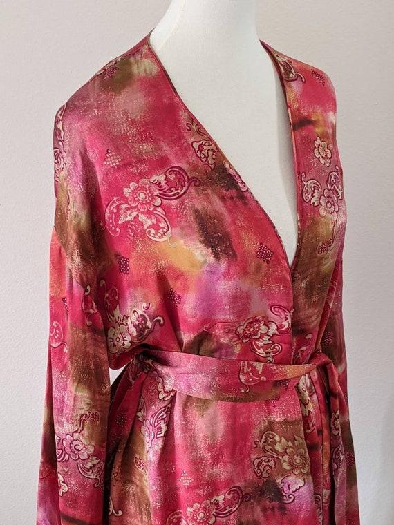VICTORIA'S SECRET Robe, Luxury Lingerie SILK, Sil… - image 6