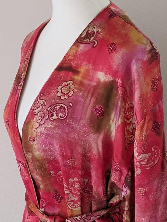 VICTORIA'S SECRET Robe, Luxury Lingerie SILK, Sil… - image 5