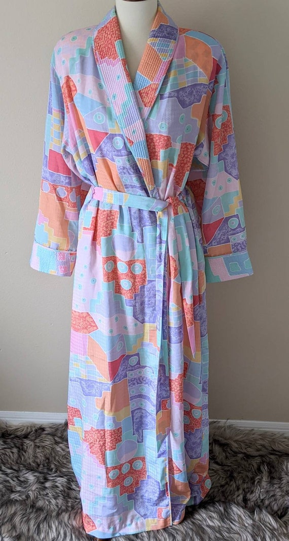MARY McFADDEN Robe Quilted, Couture Lingerie Women