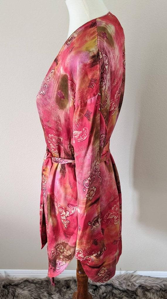 VICTORIA'S SECRET Robe, Luxury Lingerie SILK, Sil… - image 2
