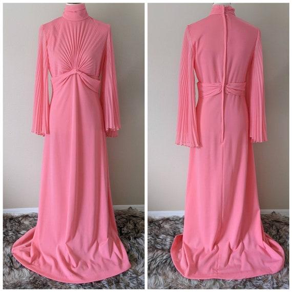 Women's Dress Evening, Vintage Ball Gown Long, Par