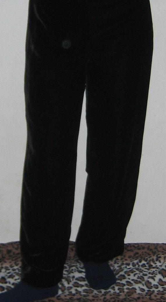 Silk Velvet Pants/Slacks