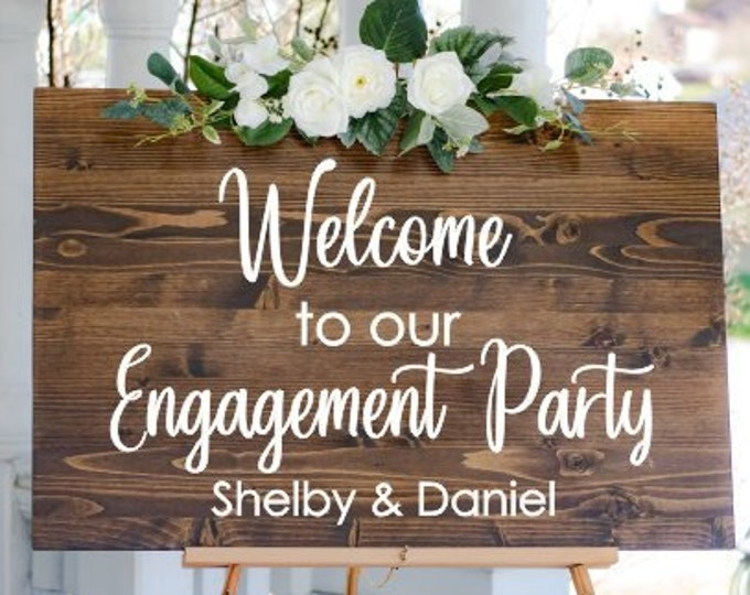 Table Number Or Name Stickers For Wedding Engagement Party