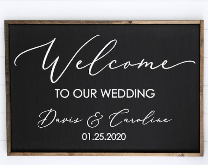 Welcome to our  Wedding Decal Vinyl Decor Wedding Decoration Handwritten Modern Decal for Mirror Wedding Chalkboard DIY Vinyl Decal