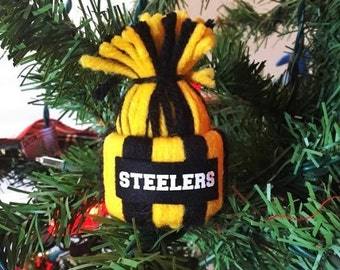 Steelers Christmas Ornaments.Steelers Ornament Etsy