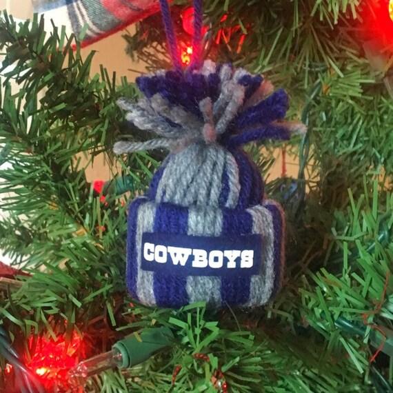 Dallas Cowboys Mini Winter Hat Beanie Ornament  1f107780c