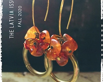 PDF Travelogue Magazine - Fall 2020 The Latvia Issue - Jewelry Magazine by Anne Potter - Beginner Level Beading - e-mag