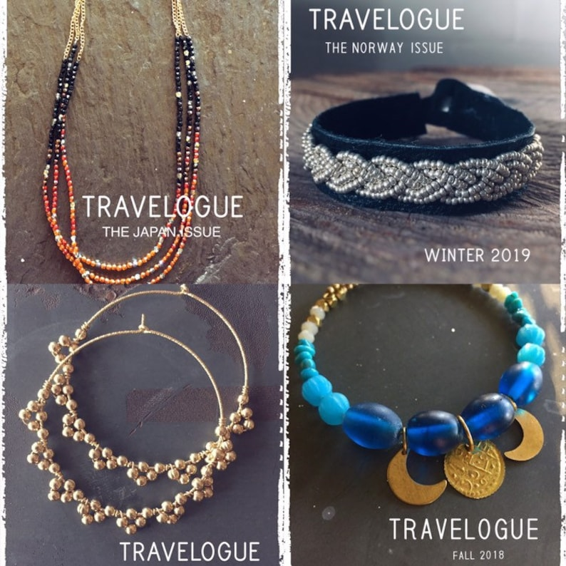 PDF Travelogue e-Magazine  One Year Subscription  Jewelry image 0