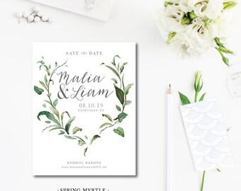 Spring Myrtle Save the Dates
