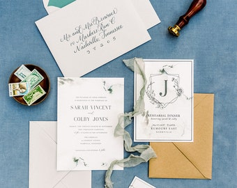 St. Vincent Wedding Invitations