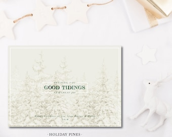 Holiday Pines Christmas Cards