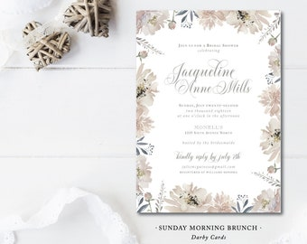 Sunday Morning Brunch Invitations