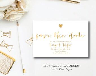 Lily VanDerWoodsen Save the Dates