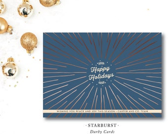 Starburst Holiday Cards