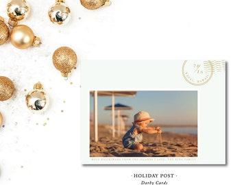 Holiday Post Printed Holiday Cards