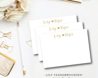 Lily Vanderwoodsen Stationery