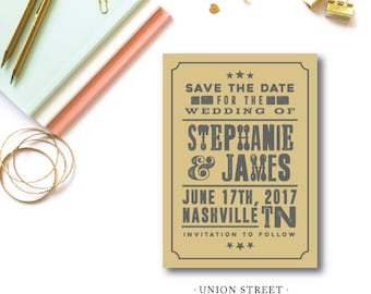 Union Street Save the Dates