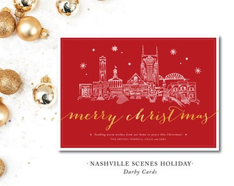 Nashville Scenes Christmas Cards