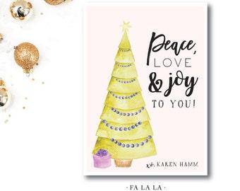Preppy Christmas Cards