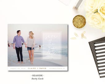 Seaside Save the Dates