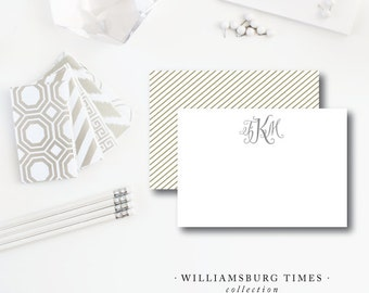 Williamsburg Times Flat Stationery