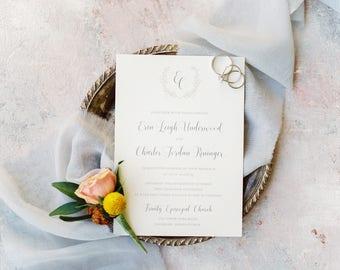 Franklin Park Wedding Invitations