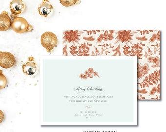 Rustic Aspen Christmas Cards