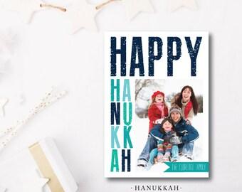 Hanukkah Printed Holiday Cards