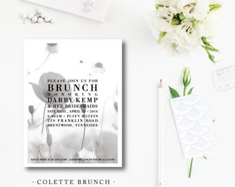 Colette Brunch Invitations
