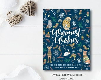 Sweater Weather Holiday Cards