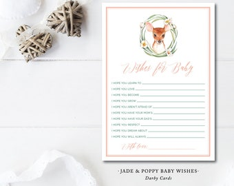 Jade and Poppy Wish Cards